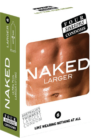 Naked Larger 6's
