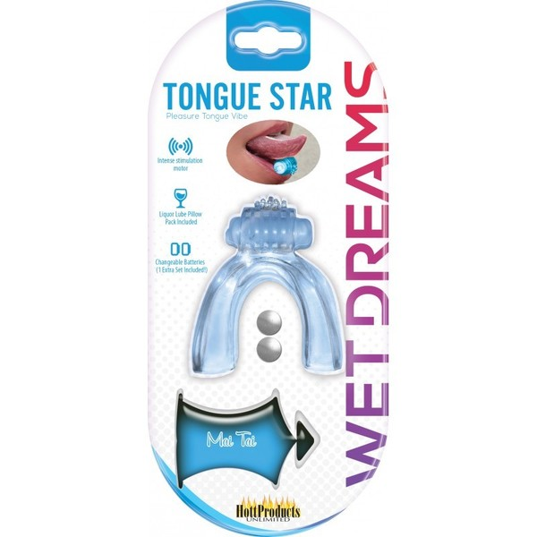 Tongue Star - Pleasure Tongue Vibe (Blue)